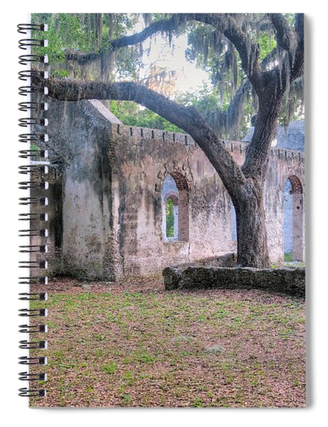 Chapel Of Ease Spiral Notebook