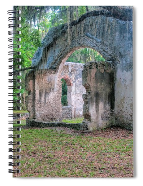 Chapel Of Ease With Tomb Spiral Notebook