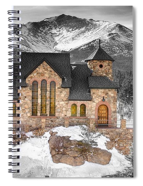 Chapel On The Rock Bwsc Spiral Notebook