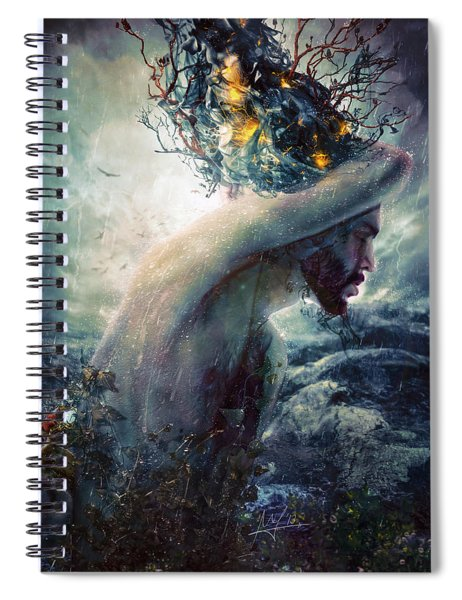 Charade Spiral Notebook