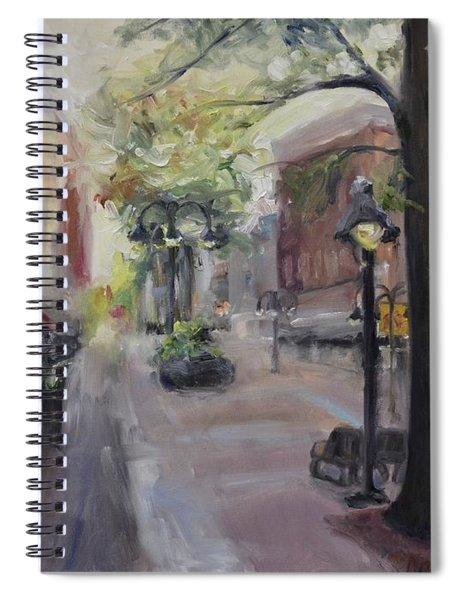 Charlottesville's Historic Downtown Mall Spiral Notebook