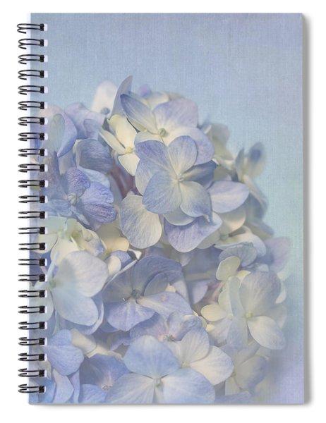 Charming Blue Spiral Notebook