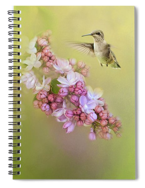 Chasing Lilacs Spiral Notebook