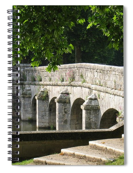 Chateau Chambord Bridge Spiral Notebook