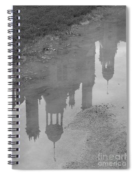 Chateau Chambord Reflection Spiral Notebook