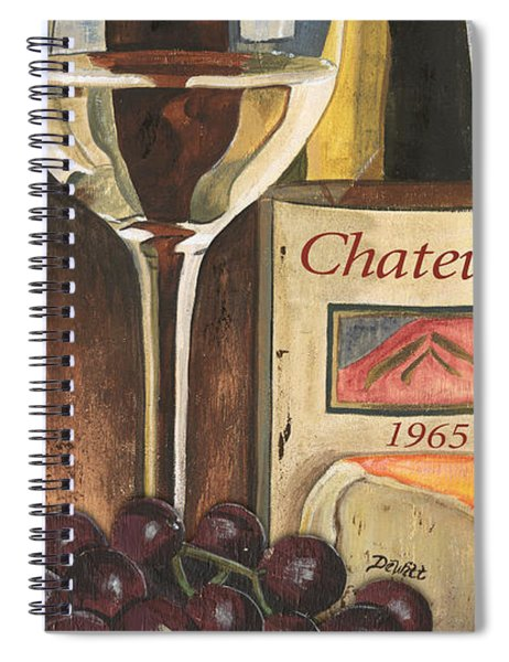 Chateux 1965 Spiral Notebook