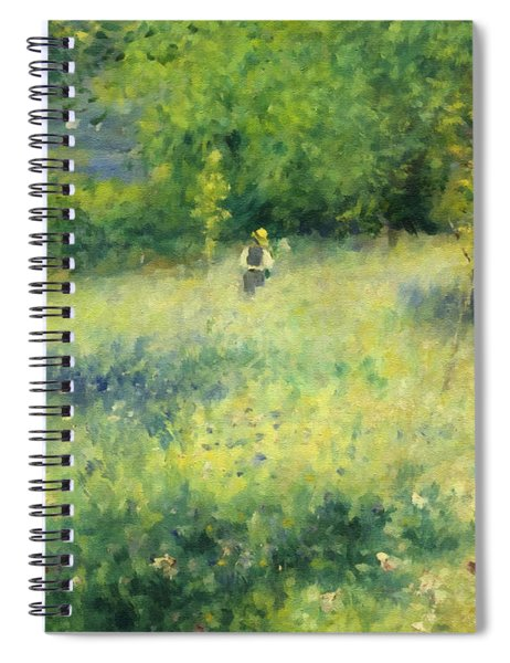 Chatou After Renoir Spiral Notebook