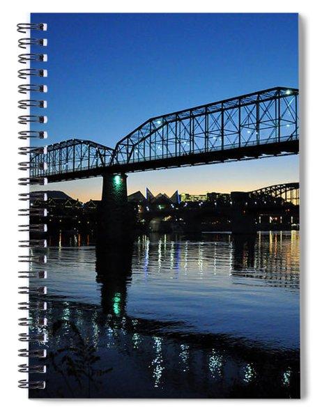 Tennessee River Bridges Chattanooga Spiral Notebook