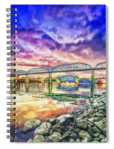 Chattanooga Reflection 1 Spiral Notebook