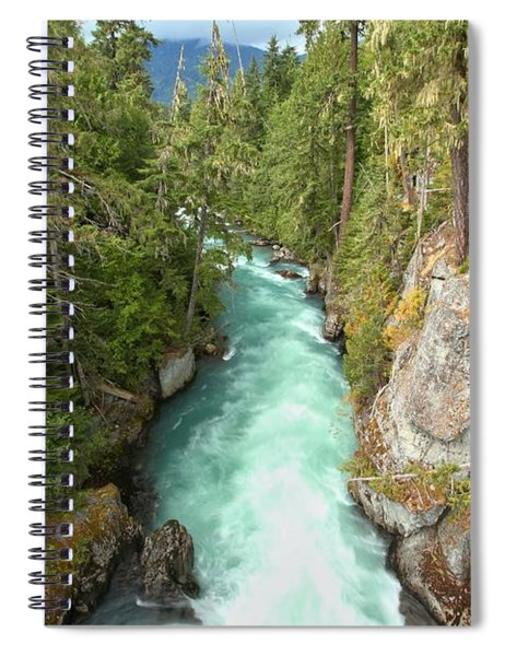 Cheakamus River Gorge - Bc Canada Spiral Notebook