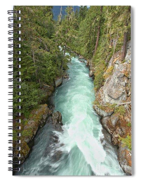 Cheakamus River Gorge - British Columbia Spiral Notebook