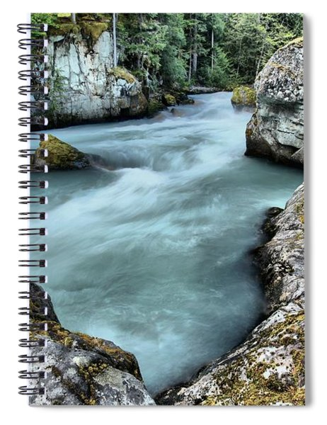 Cheakamus River Rocks Spiral Notebook