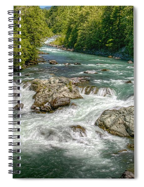 Cheakamus River Spiral Notebook
