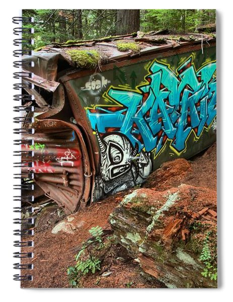 Cheakamus River Train Derailment Spiral Notebook