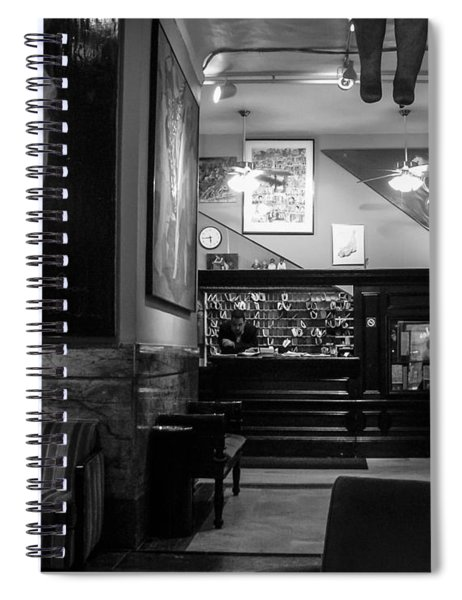 Chelsea Hotel Night Clerk Spiral Notebook