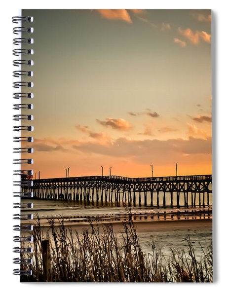 Cherry Grove Pier Myrtle Beach Sc Spiral Notebook