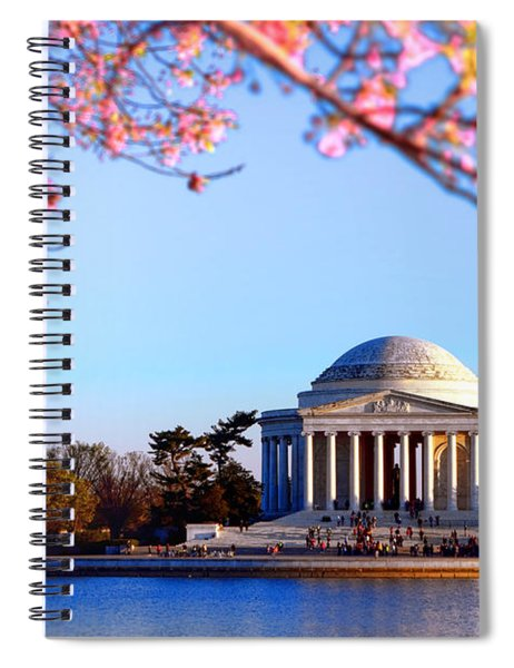 Cherry Jefferson Spiral Notebook