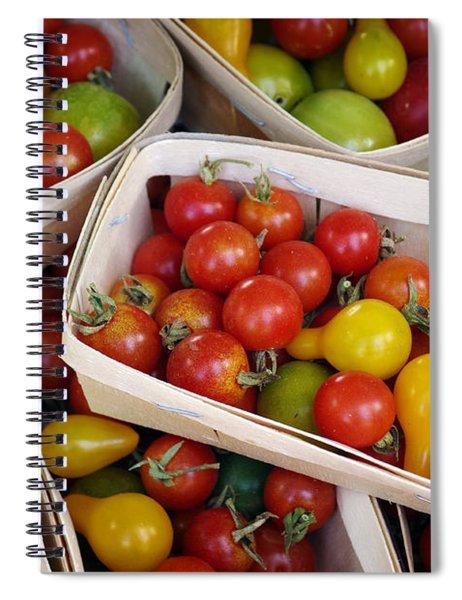 Cherry Tomatos Spiral Notebook