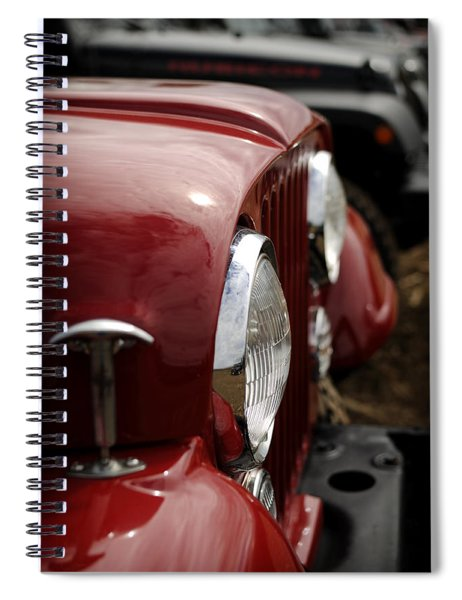 Cherrybomb Spiral Notebook