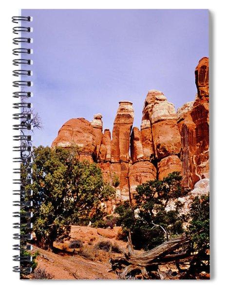 Chesler Park Pinnacles Spiral Notebook