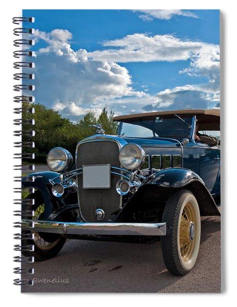Chevrolet Confederate Ba Phaeton 1932 Spiral Notebook