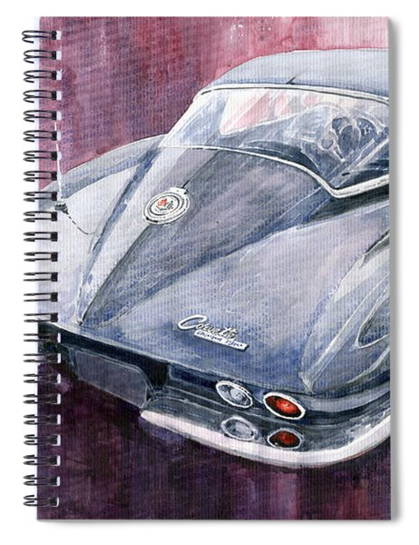 Chevrolet Corvette Sting Ray 1965 Spiral Notebook