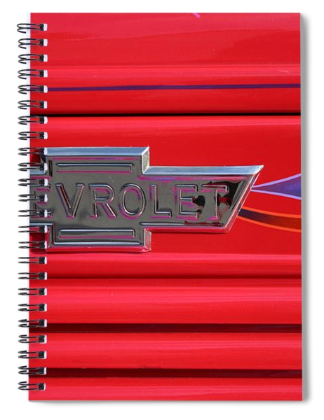 Chevrolet Emblem Spiral Notebook
