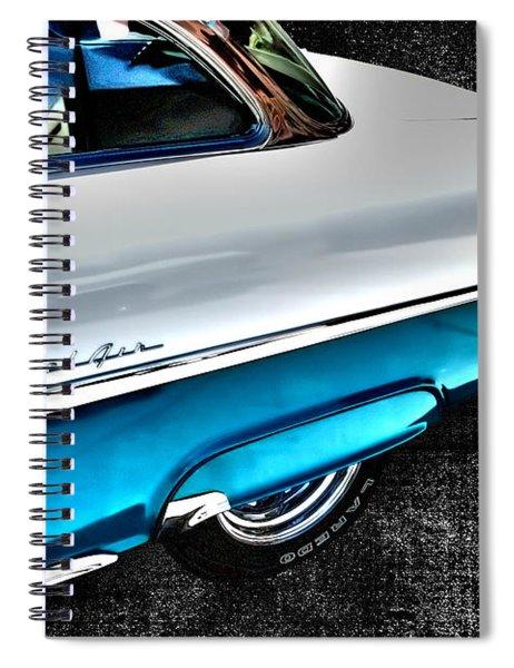 Chevy Bel Air Art 2 Tone Side View Art 1 Spiral Notebook