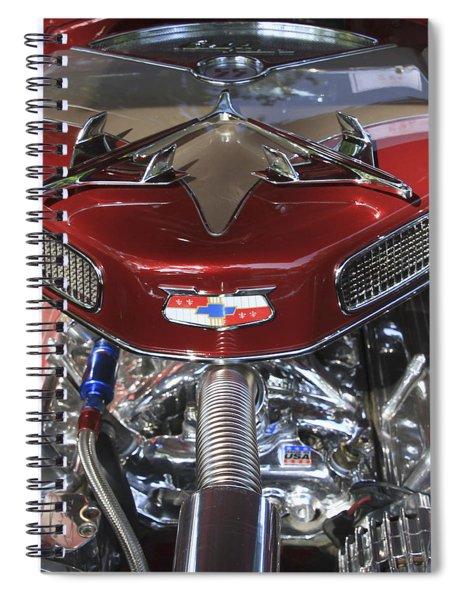 Chevy Engine Spiral Notebook