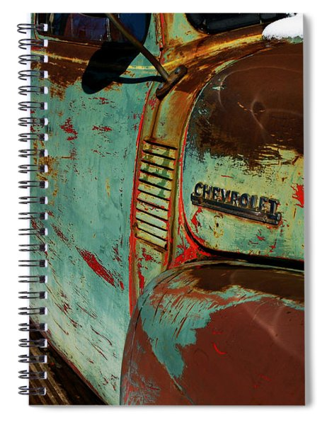 Arroyo Seco Chevy Spiral Notebook