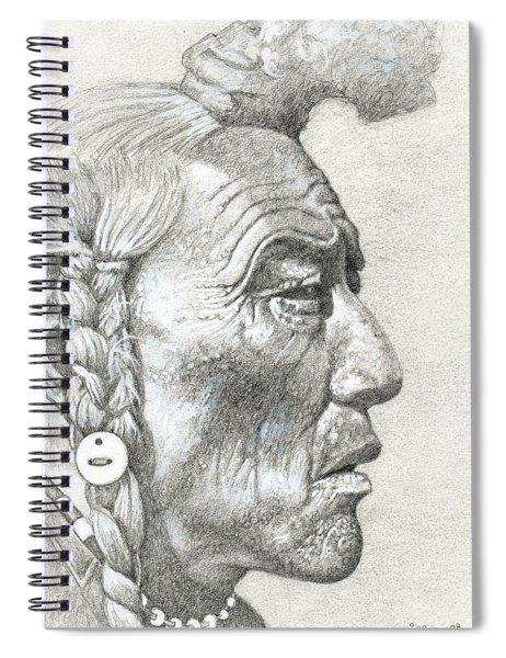 Bear Bull, Blackfoot Spiral Notebook