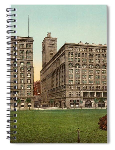 Chicago Auditorium, C1900 Spiral Notebook