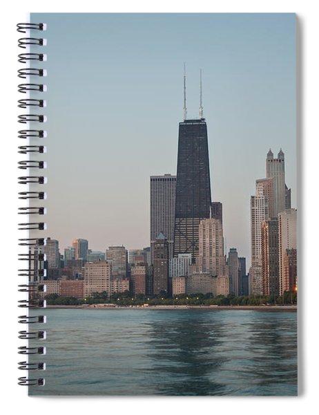 Chicago Morning Spiral Notebook