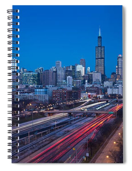 Chicago Panorama Spiral Notebook
