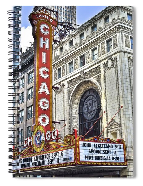 Chicago Theater Spiral Notebook