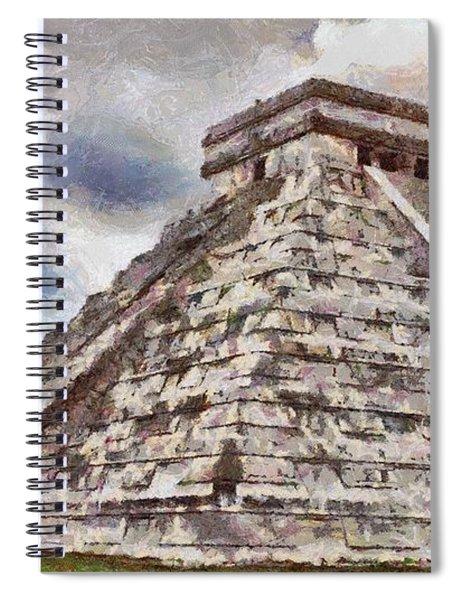 Chichen Itza Spiral Notebook