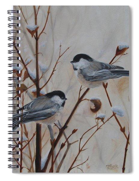 Chickadees Spiral Notebook