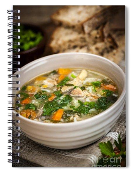 Chicken Soup Spiral Notebook