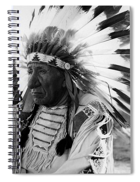 Chief Red Cloud Spiral Notebook by War Is Hell Store