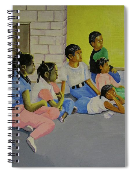 Children's Attention Span  Spiral Notebook