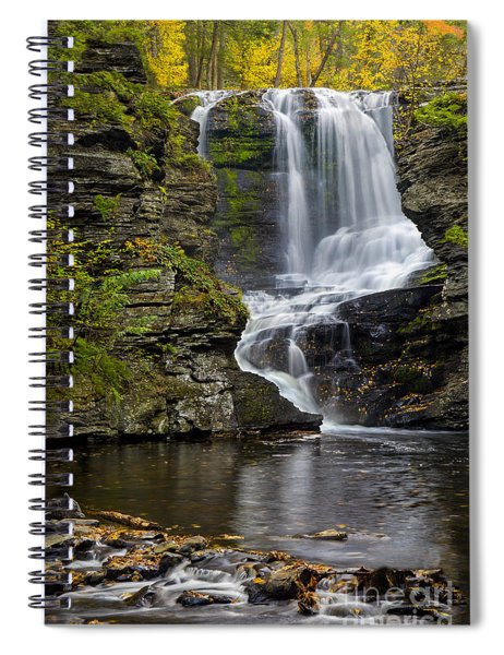 Childs Park Waterfall Spiral Notebook