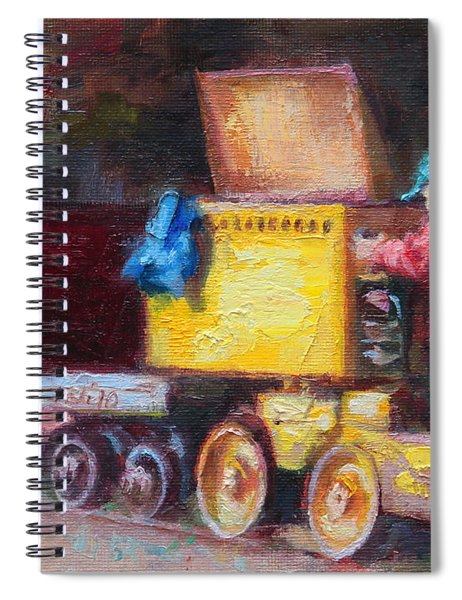 Child's Play - Gold Mine Train Spiral Notebook