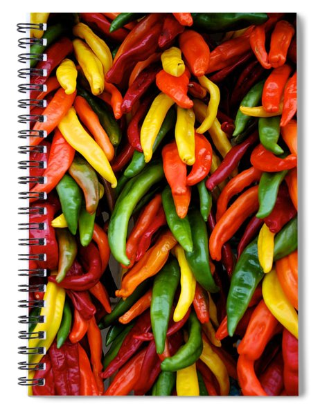 Chile Ristras Spiral Notebook