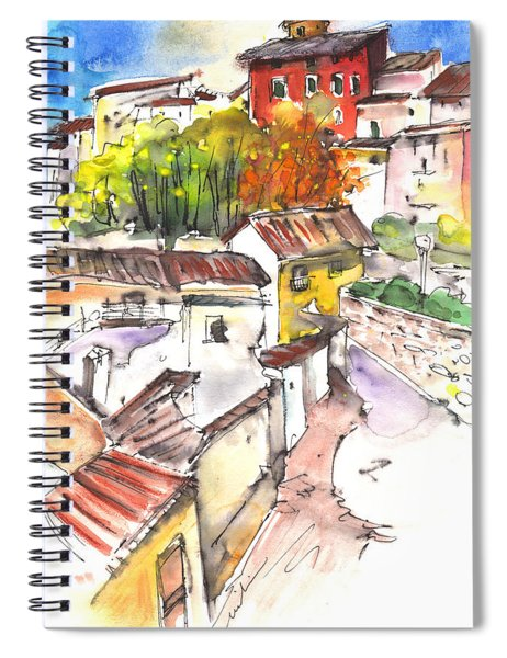 Chinchilla De Monte Aragon 02 Spiral Notebook