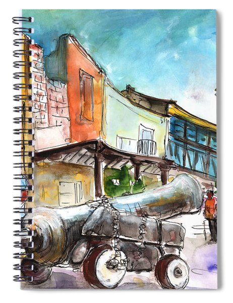 Chinchilla De Monte Aragon 03 Spiral Notebook