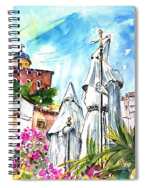 Chinchilla De Monte Aragon 04 Spiral Notebook