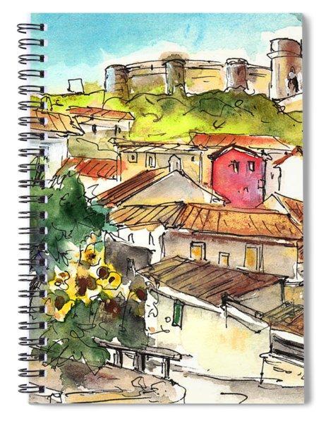 Chinchilla De Monte Aragon 06 Spiral Notebook