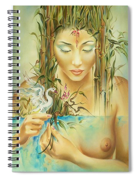 Chinese Fairytale Spiral Notebook