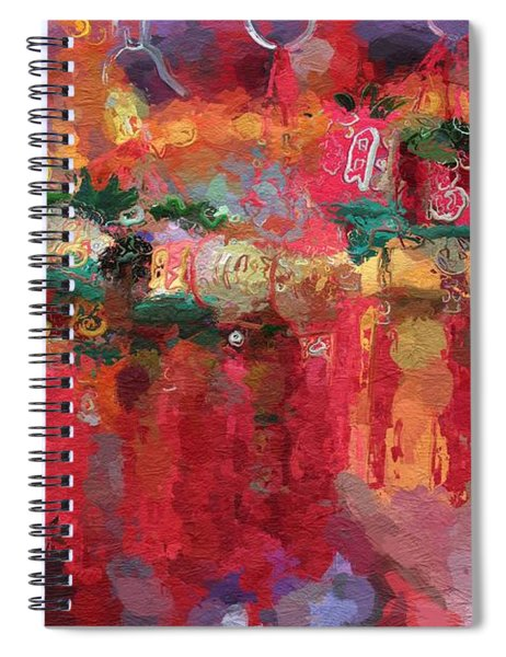 Chinese New Year Spiral Notebook