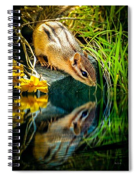 Chipmunk Reflection Spiral Notebook